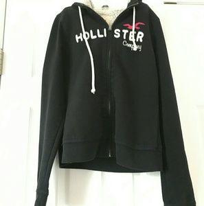 Hollister sherpa-lined hoodie